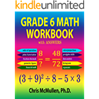 Grade 6 Math Workbook with Answers (Improve Your Math Fluency 21)