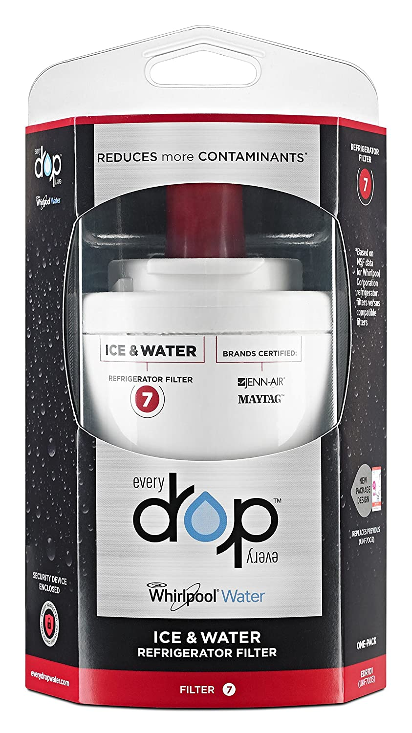 EveryDrop by Whirlpool Refrigerator Water Filter 7 (Pack of 1)