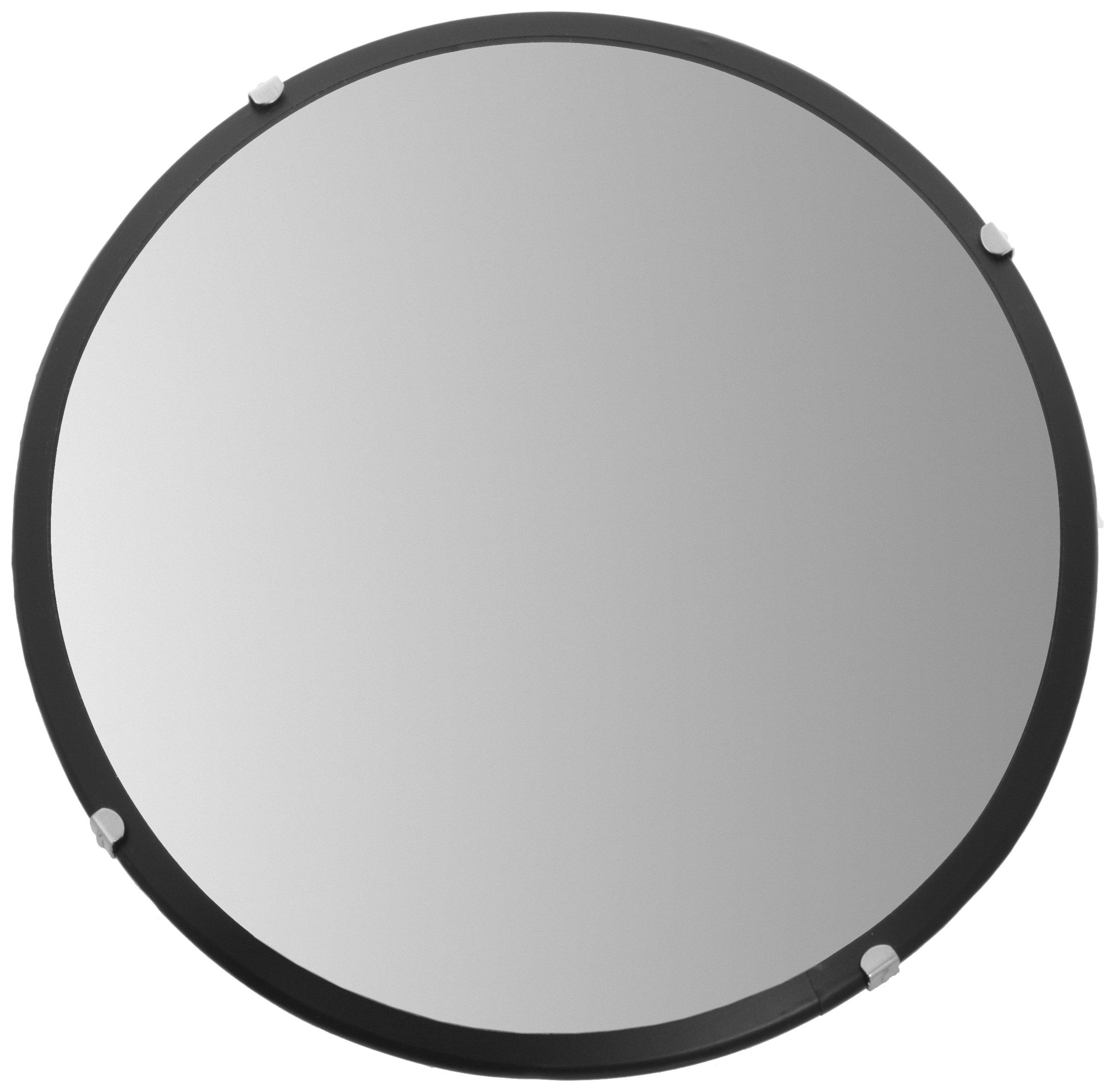 See All PLX12 Circular Acrylic Indoor Convex Security Mirror, 12'' Diameter (Pack of 1)