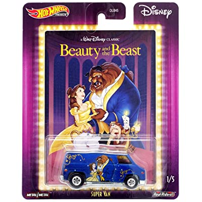 Hot Wheels Premium Beauty and The Beast Super Van: Toys & Games