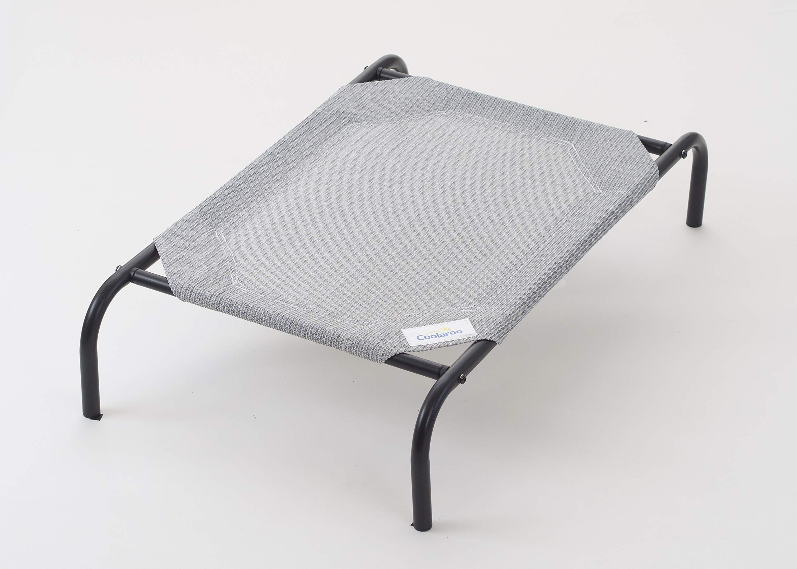 Coolaroo The Original Elevated Pet Bed, Medium, Grey
