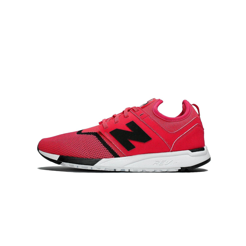 New Balance Herren 247 Classic Mesh Sneaker  10|Energy Red with Black