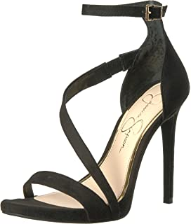 Jessica Simpson Plemy Satin Floral Print Ankle Strap Dress Sandals J08il