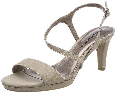e10efff35013 Tamaris Damen 28318 Slingback Sandalen  Amazon.de  Schuhe   Handtaschen