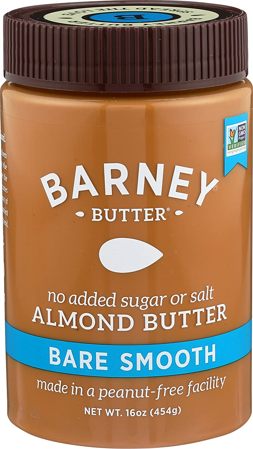 Barney Butter Almond Butter, Bare Smooth, 16 Ounce by Barney Butter
