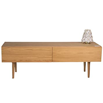 treesure lowboard r eiche massiv massivholzlowboard sideboard wohnwand kommode wohnzimmerschrank