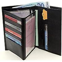 Portefeuille Porte Carte crédit Visite Monnaie en Cuir synthétique Neuf