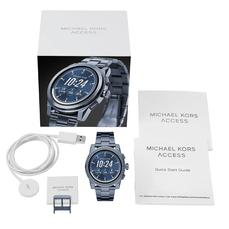 6a2f979350bdc Michael Kors Men s Smartwatch Grayson MKT5028  Amazon.co.uk  Watches