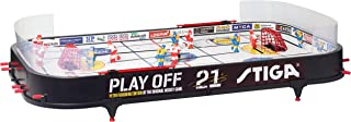 Stiga Play Off 21 Sverige-Canada Icehockey Game Mixte Enfant, Black/White, 96 x 50 cm STIIN|#Stiga 71-1145-05
