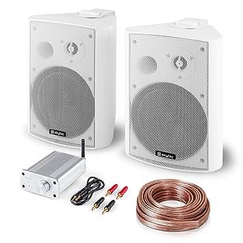 Bluetooth Play WH Set HiFi de audio • Pareja de altavoces de pie de 2 vías