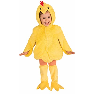 Forum Novelties Plush Cuddlee Lovable Chicken Costume, Child Small: Toys & Games