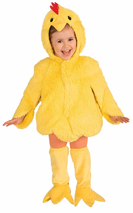 7519ddc7d Amazon.com: Forum Novelties Plush Cuddlee Lovable Chicken Costume ...