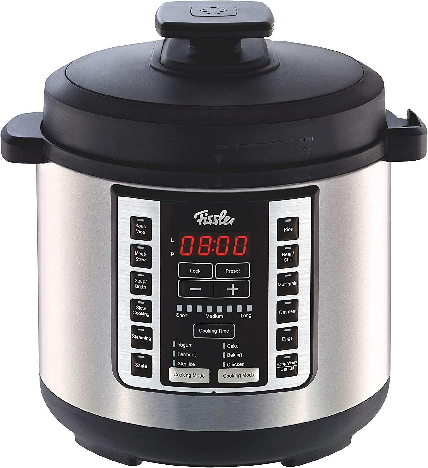 Souspreme Multi Pot This all-around kitchen appliance offers the best in fast cooking and slow cooking – plus integrated sous vide. It's on trend with 18 one-touch cooking programs, from steaming or sautéing to sous vide, fermenting and many more. Use it for soups, meats, stews, poultry, eggs, grains, beans, chili, yogurt, dough, cake and more – endless possibilities.