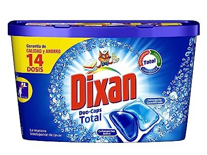 Dixan Duo Caps Detergente en Cápsulas - 14 lavados