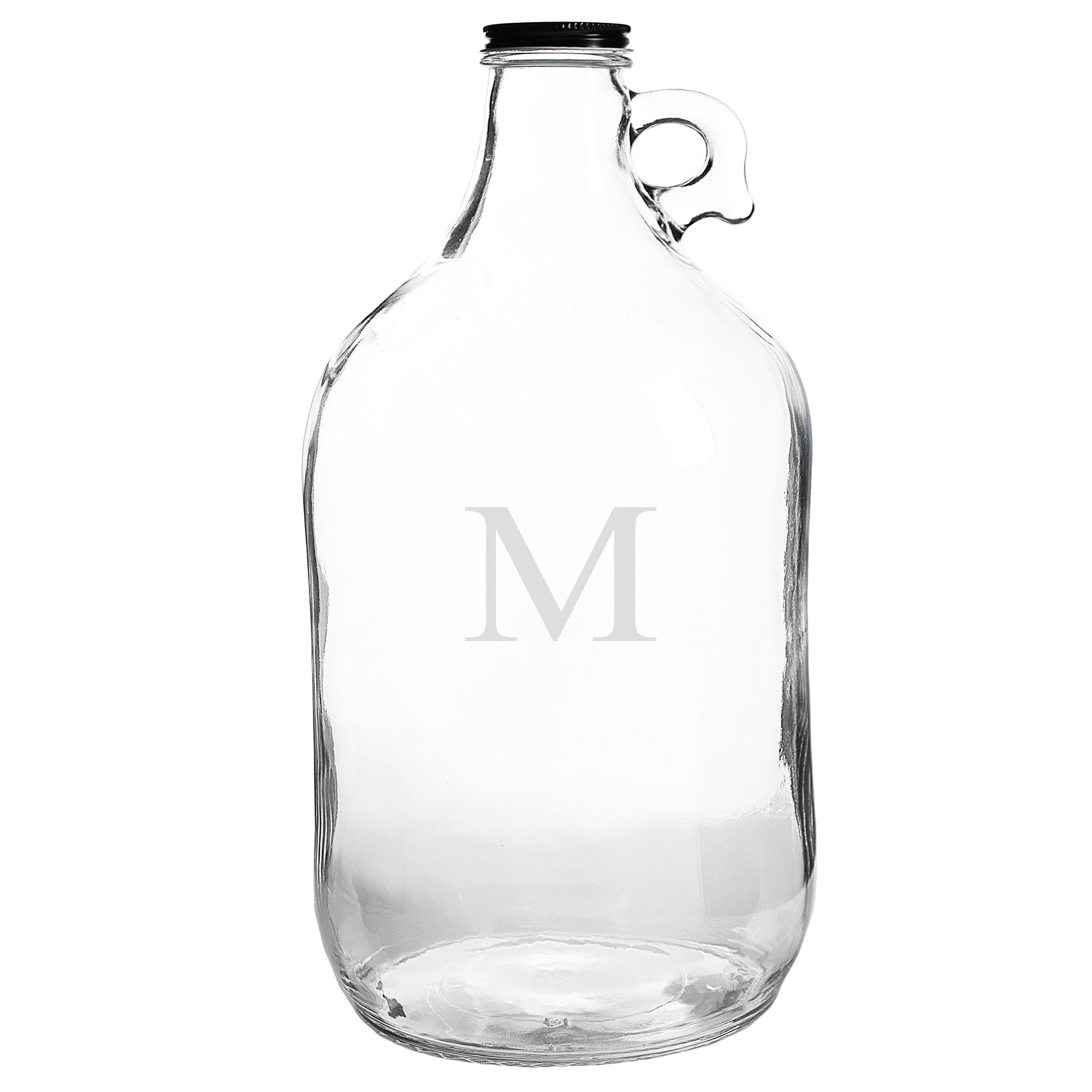 Cathy's Concepts Personalized Craft Beer Growler, Letter M