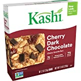 Kashi Chewy Cherry Dark Chocolate Granola Bars - Vegan, 7.4 Oz (Box of 6)