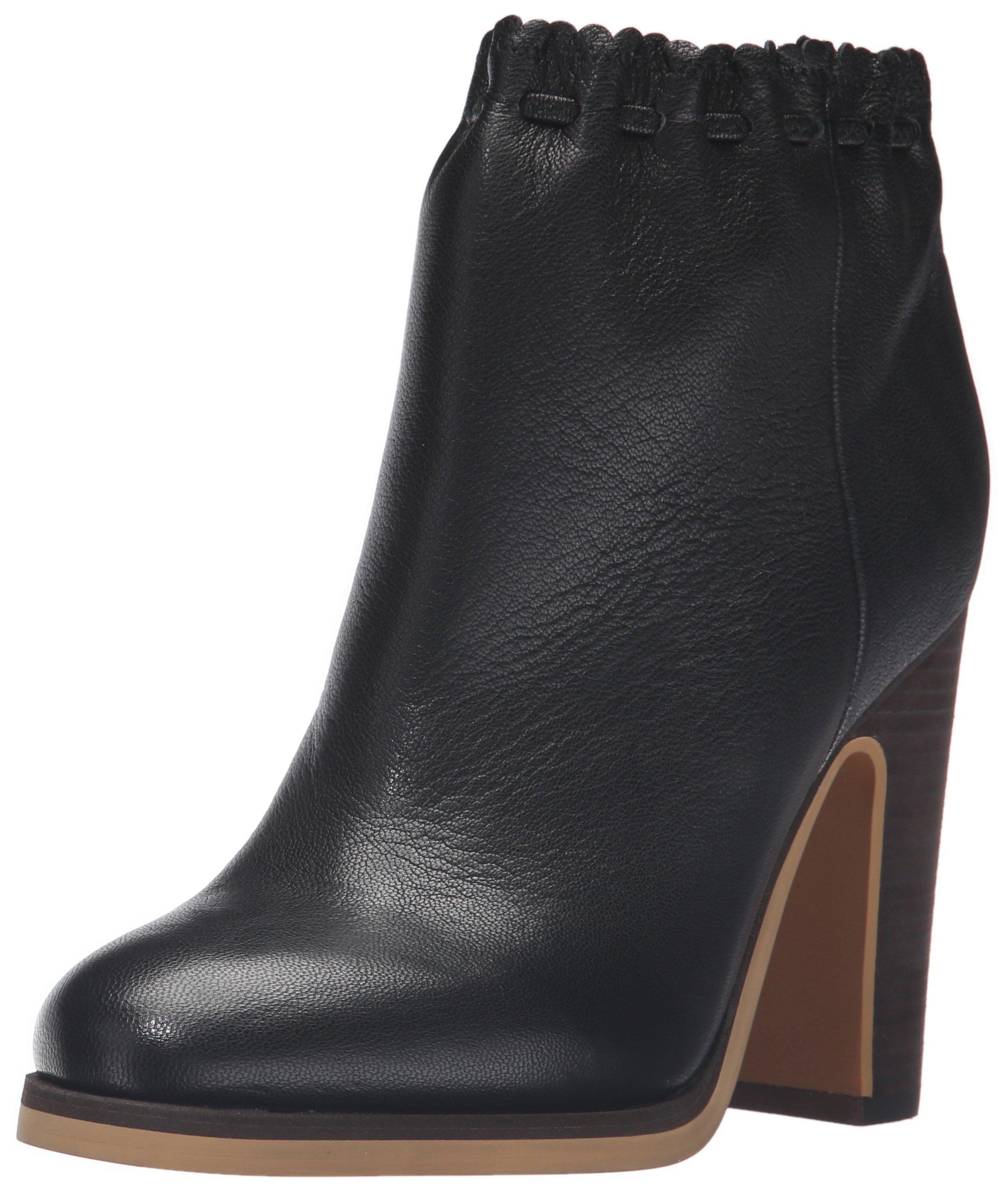 See by Chloe Women's Jane Ankle Bootie, Black, 38 EU/8 M US
