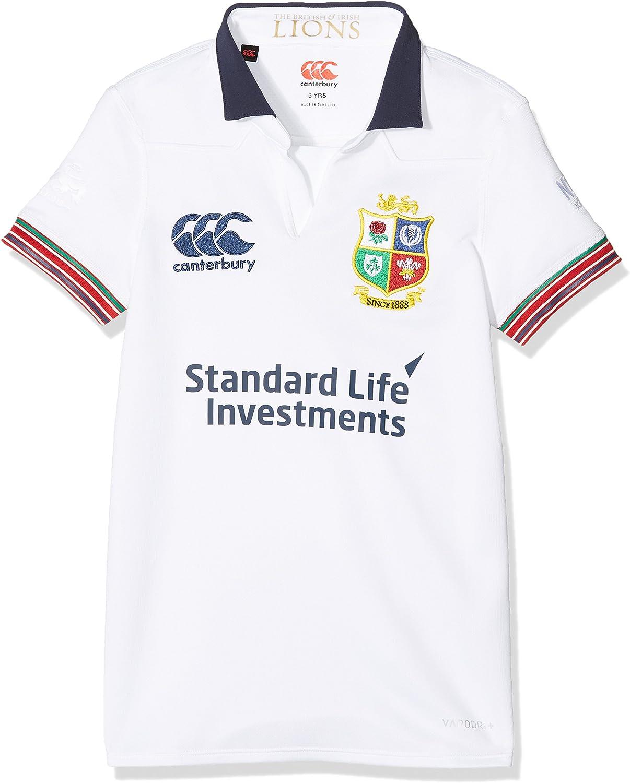 British and Irish Lions Camiseta Deportiva para niños Canterbury, Manga Corta.: Amazon.es: Deportes y aire libre