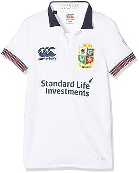 9dc3033bf98 Canterbury Of New Zealand Kid's Training Short Sleeve Pro Jersey, Bright  White, 6 Years