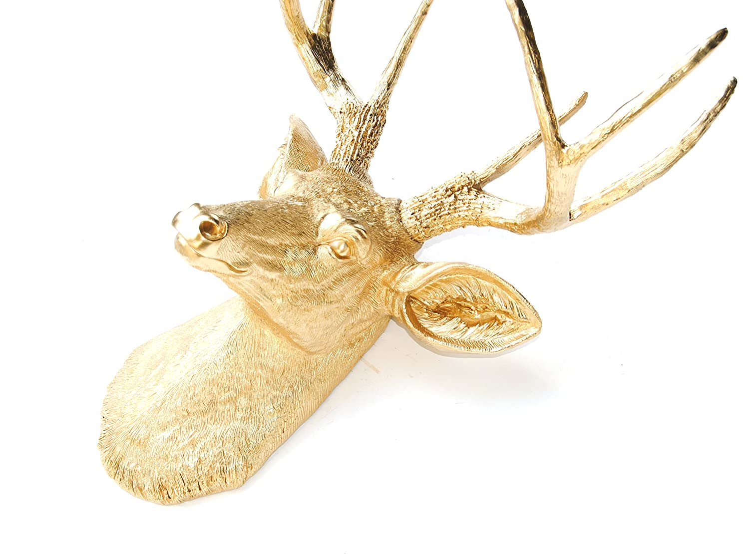 Amazon.com: Near and Deer Faux Taxidermy 8 Pt. Deer head Wall ...