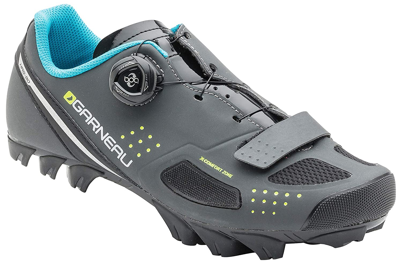 Louis Garneau – Women 's Granite II Cycling Shoes B0741F2YH8 38 アスファルト アスファルト 38