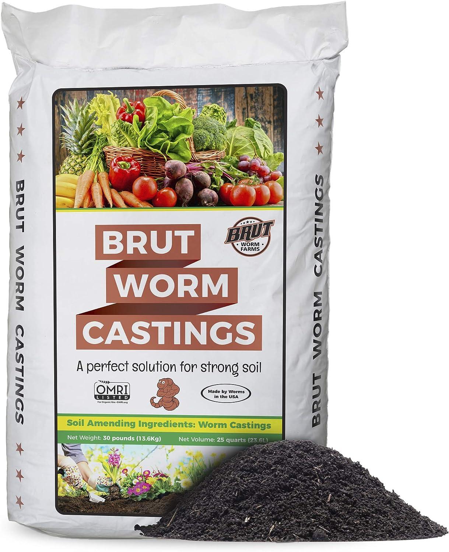 Brut Worm Farms - Worm Castings Soil Builder