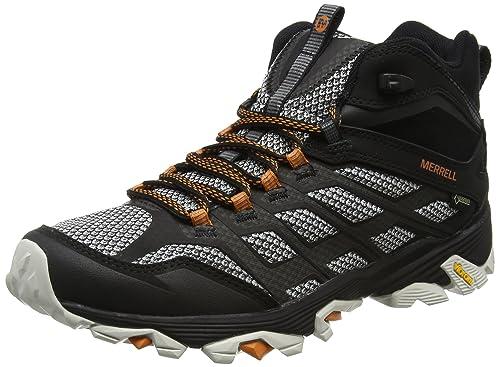 Merrell Moab Fst Mid Gore-Tex Zapatilla de Trekking - AW17: Amazon.es: Zapatos y complementos