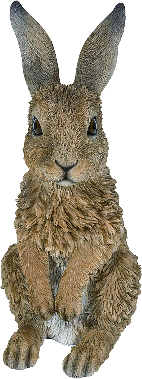 ausschauhaltend Gr/ö/ße C Kunstharz Gartendeko Vivid Arts Real Life Kaninchen