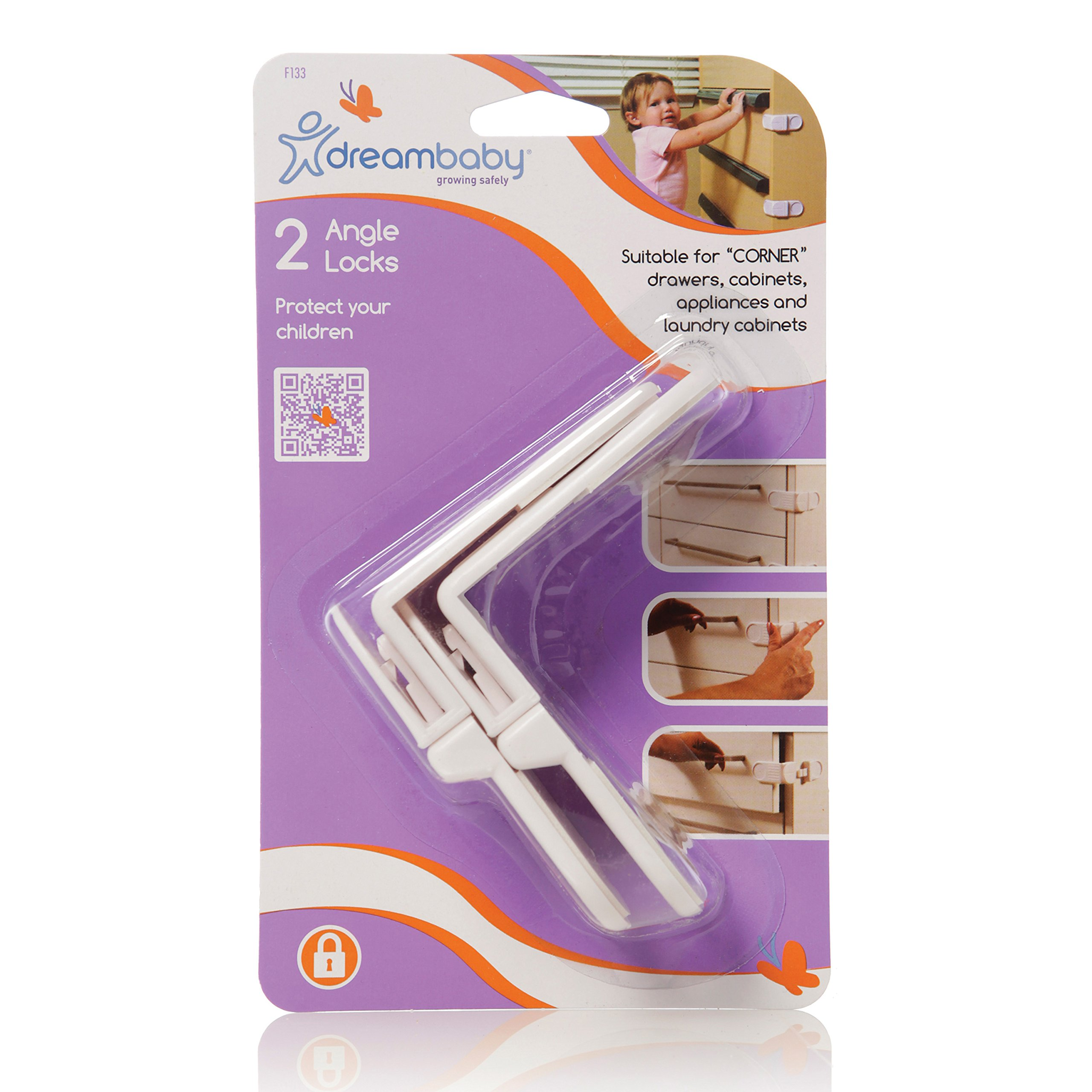 Dreambaby Angle Lock 2 Pack