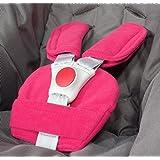 ByBUM® - Gurtpolster Set - universal für Babyschale, Buggy, Kinderwagen, Autositz (z.B. Maxi Cosi City SPS, Cabrio, Cybex Aton usw.); In vielen Farben; MADE IN EU