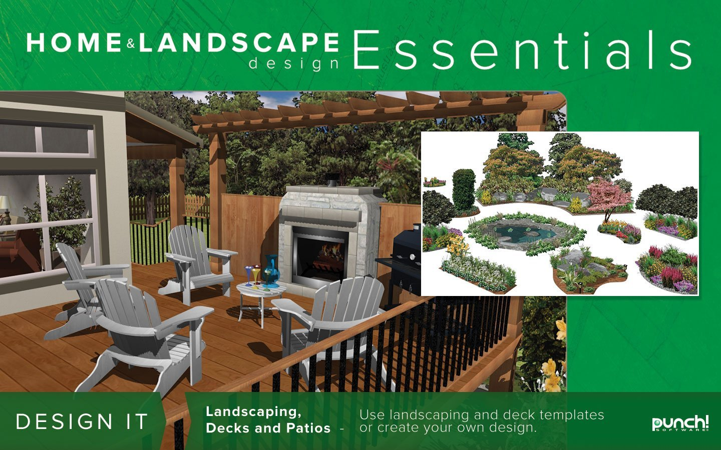 Punch home landscape design essentials v18 review home punch design home and landscaping for Punch home design
