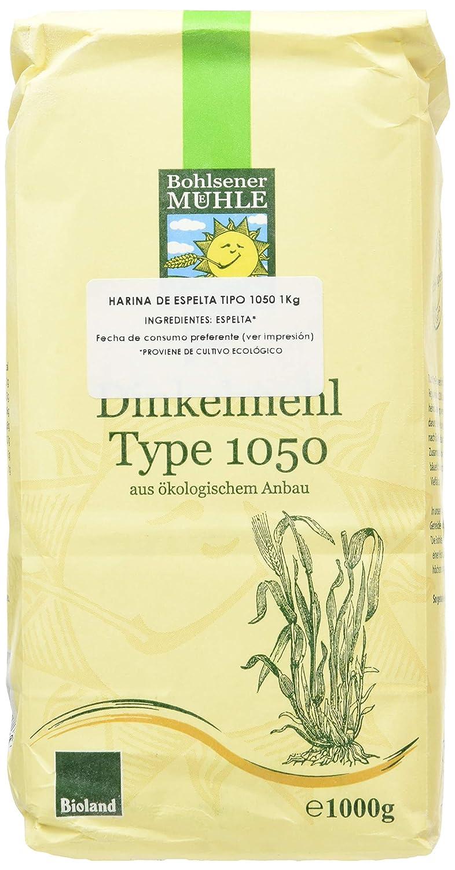Bohlsener Mühle Harina Espelta - 6 Paquetes de 1000 gr - Total ...