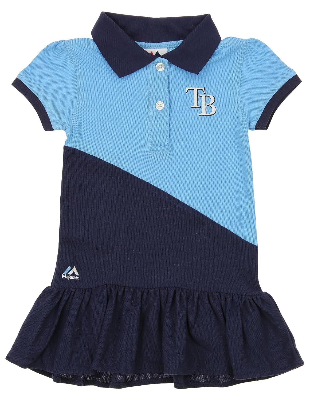 Outerstuff MLB - Vestido Polo para niña de Tampa Bay Rays Good ...