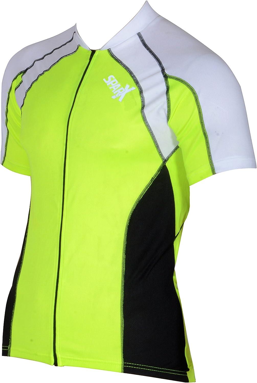 Sparx Men Short Sleeve Cycling Jerseys Bike Shirts Sportwear Cycling Top