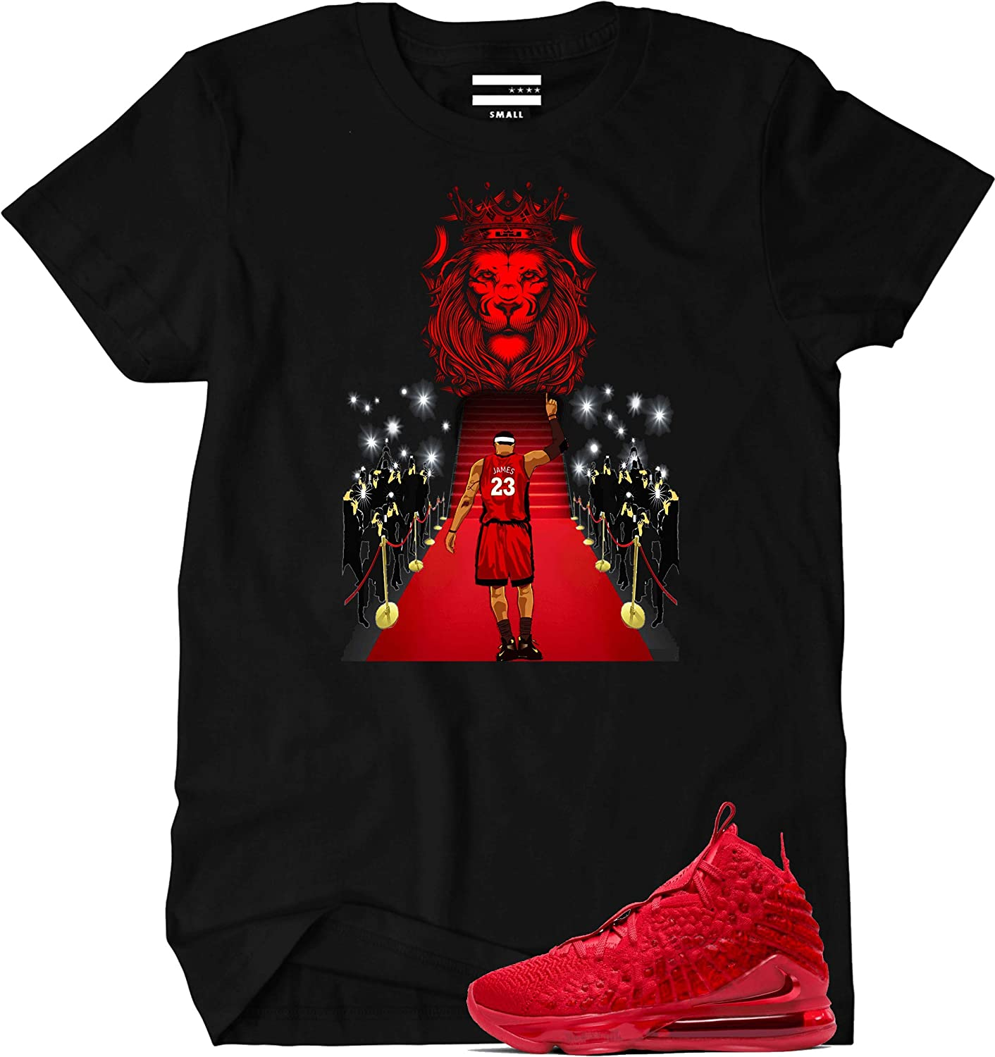 We Will Fit Shirt for Lebron 17 Red