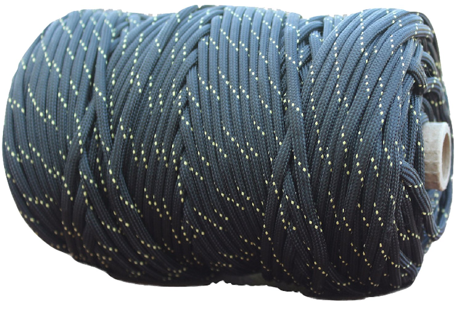 X-CORDS Paracord 850 Lb Stronger Than 550 and 750 Made by Us Government Certified Contractor (200' Black Diamond Kevlar Tube) by X-CORDS