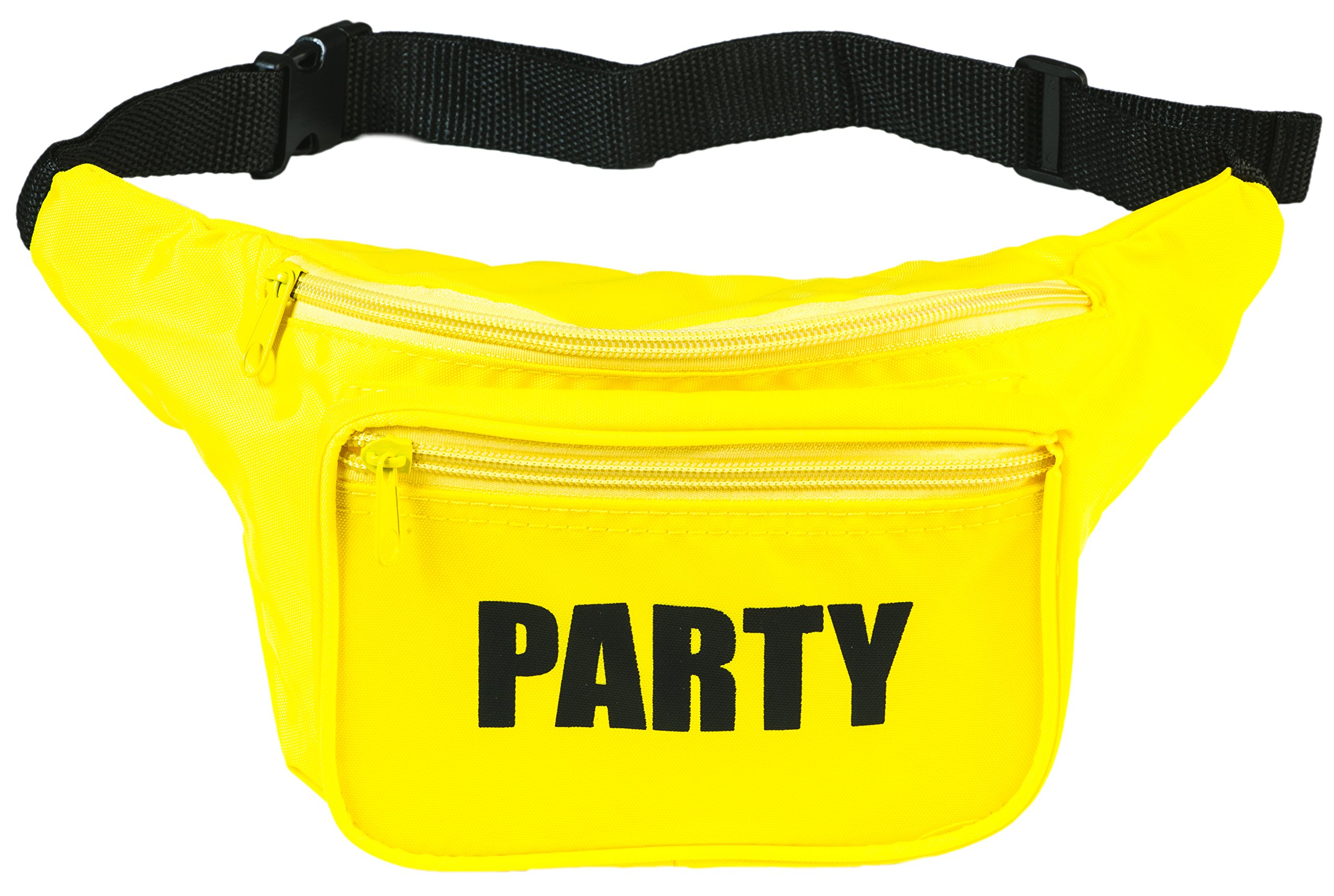 Funny Guy Mugs PARTY Fanny Pack, Yellow