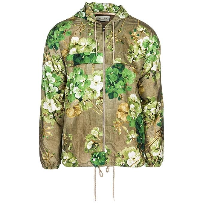 Gucci chaqueta cazadoras de hombre en piel chapucha nuevo verde EU 48 (UK 38) 407636 Z4222 2301: Amazon.es: Ropa y accesorios