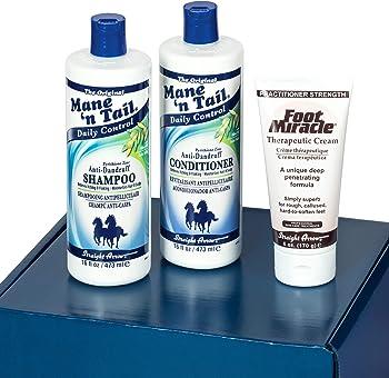 3-Pieces Kit Mane 'n Tail Anti Dandruff Scalp hydration