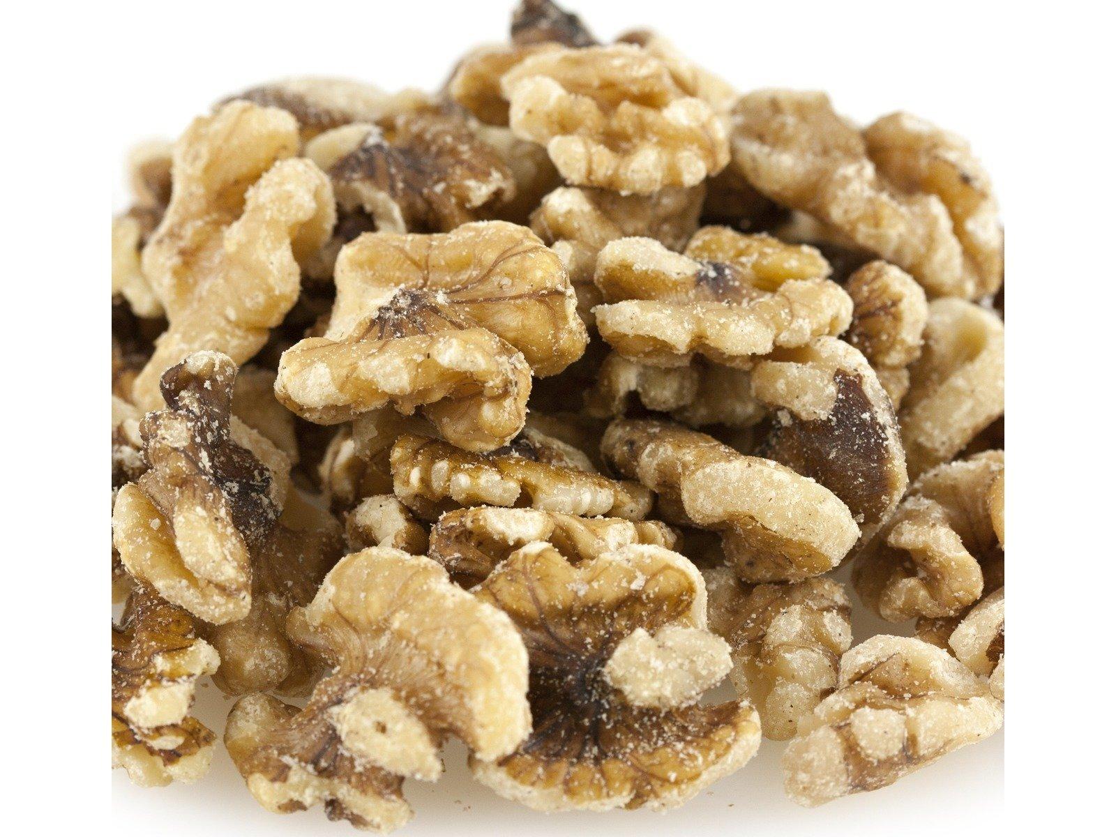 Walnut Halves & Pieces, Raw, 25# Bulk