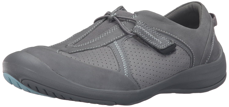 CLARKS Women's Asney Slipon Fashion Sneaker B0195GTWT4 6 B(M) US Grey Nubuck