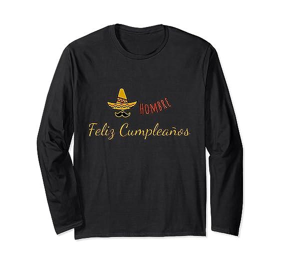 Amazon.com: Hombre Feliz Cumpleanos Happy Birthday Long ...