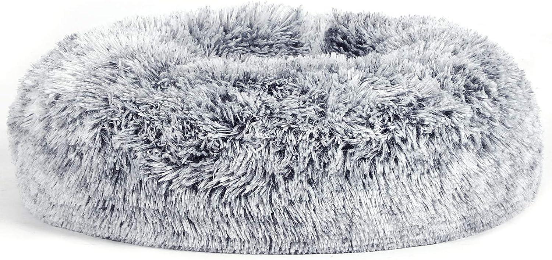 FEANDREA Cama para Perro y Gato, Superficie de Terciopelo PV, 50 cm, PGW037G01
