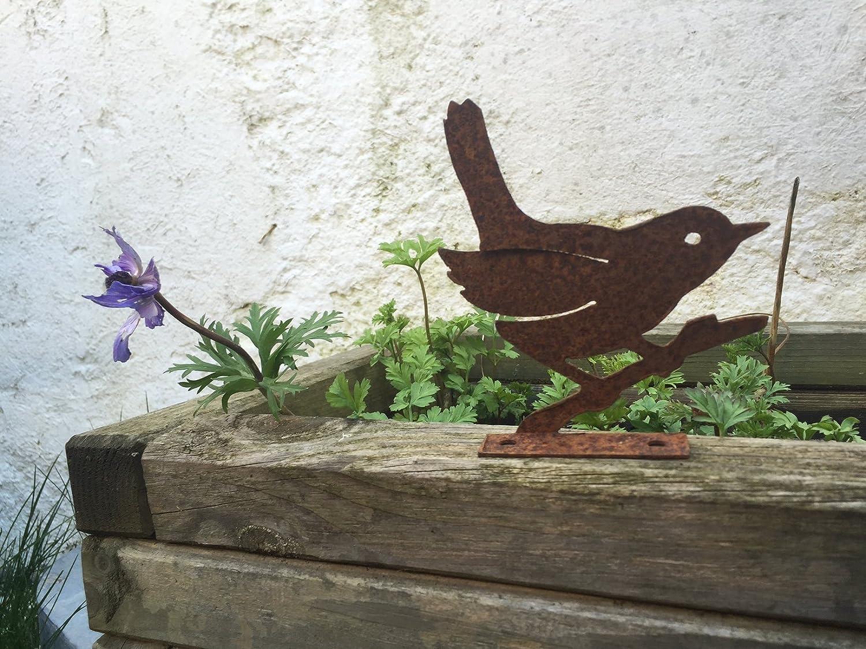 Decorazioni Da Giardino In Metallo : Metallo vaso da giardino figure accessori rustico secchio di