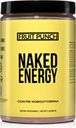Fruit Punch Naked Energy – Fruit Punch Flavored All Natural Pre