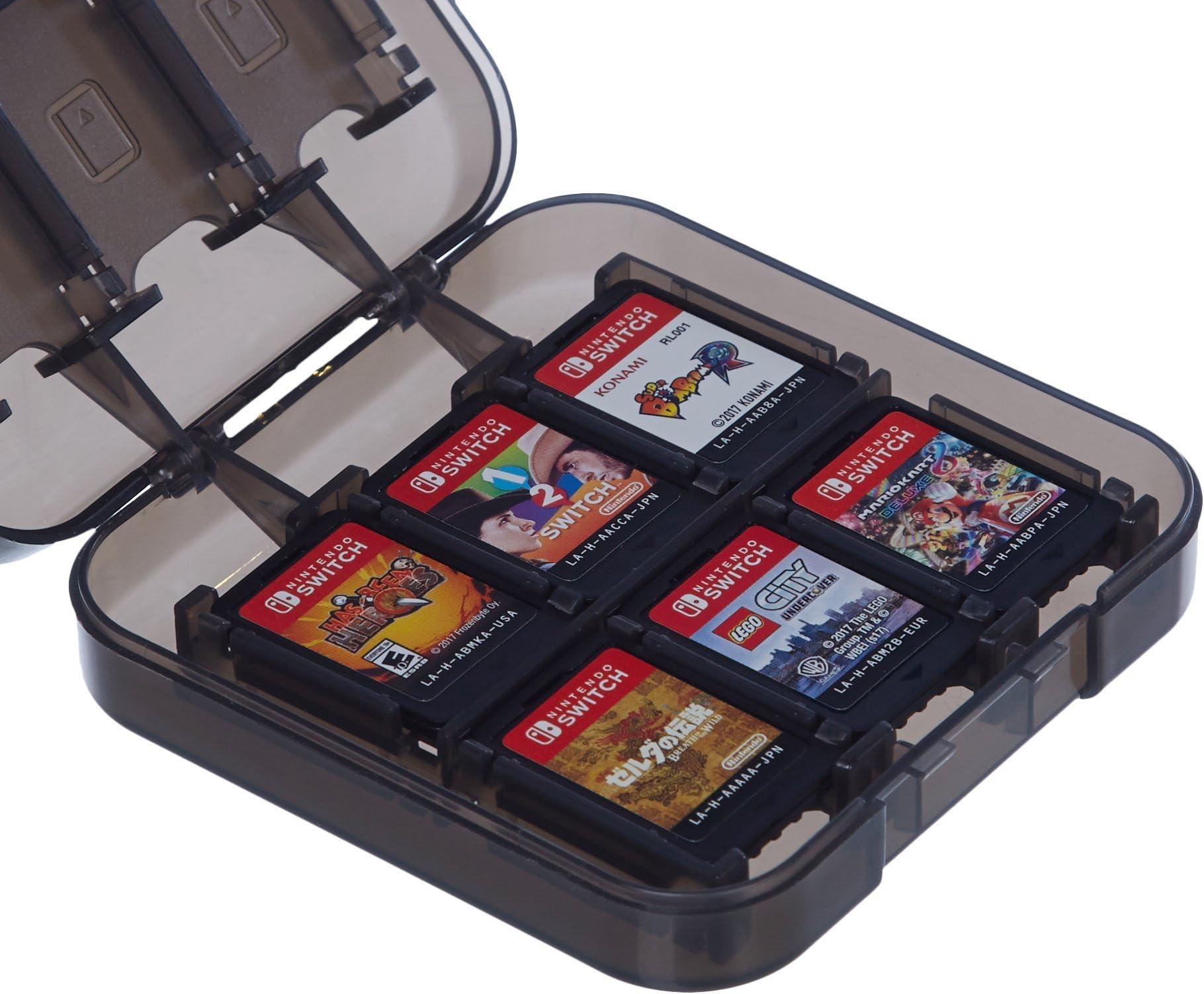 Amazon.com: AmazonBasics Game Storage Case for 24 Nintendo ...