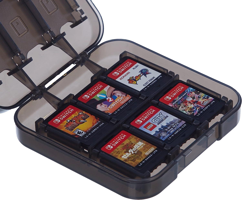 AmazonBasics - Funda para almacenamiento de juegos, para Nintendo Switch - Rojo: Amazon.es: Videojuegos