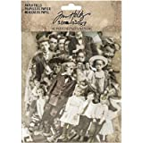 Paper Dolls by Tim Holtz Idea-ology, Card Stock, 107 Dye-Cut Printed Pieces (TH93555)