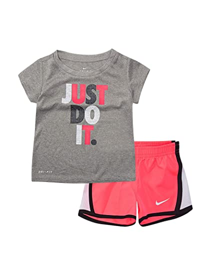 12fcaf2507e4b Nike Baby Girls' 2-Piece Shorts Set Outfit