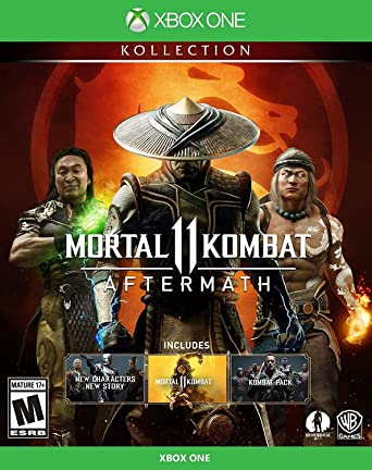 Amazon Com Mortal Kombat 11 Aftermath Kollection Xbox One Whv Games Video Games